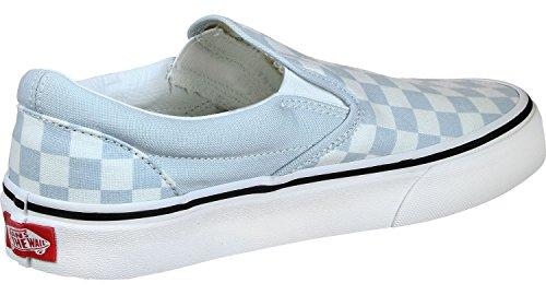 Vans Herren Slip-On (TM) Core Classics Baby Blau / True White Schachbrettmuster