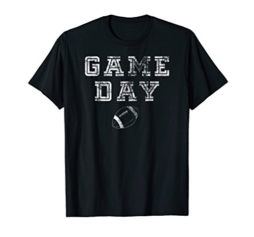 Game Day Football T Shirt Women Men Cute Football Top (Game Day Football T-shirt)