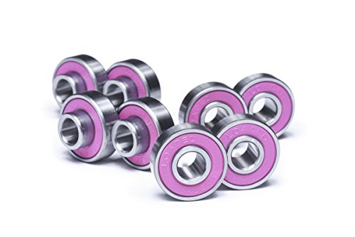 Loaded Boards Jehu V2 High Performance Longboard Skateboard Bearings