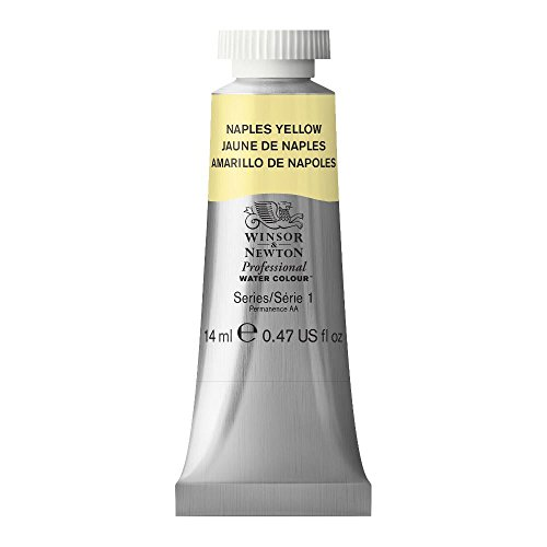 Winsor & Newton Professional Water Colour Paint, 14ml tube, Naples Yellow (Yellow Naples Tube)