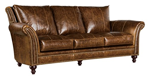 Oliver Pierce OP0010 Archibald Leather, Sofa, Brown