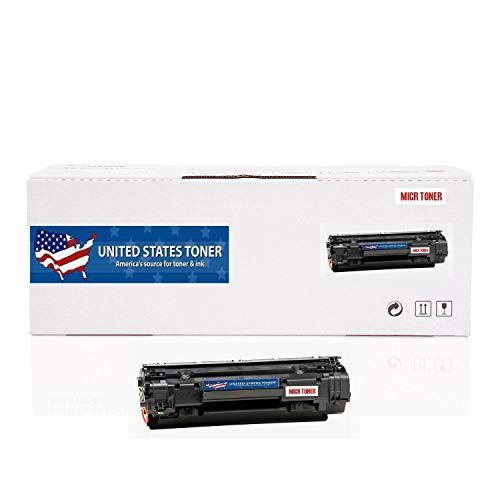 (United States Toner Compatible MICR Toner Cartridge Replacement for Canon CRG-137 9435B001AA ImageCLASS MF210, 220 Series. Yields up to 2400 Pages.)