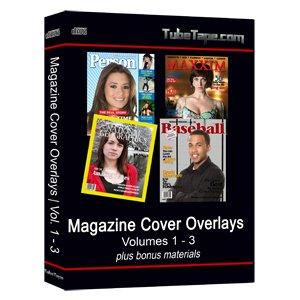 Magazine Cover Volumes 1-3 Digital Overlays