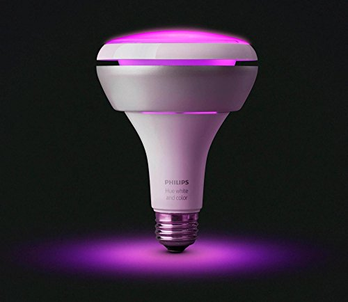 046677456665 - Philips 456665 Hue White & Color Ambiance BR30 Extension Bulb, Works with Amazon Alexa carousel main 2
