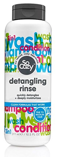 SoCozy Detangling Rinse In-Tub Super Tangle Eraser, 10.5 Fluid Ounce