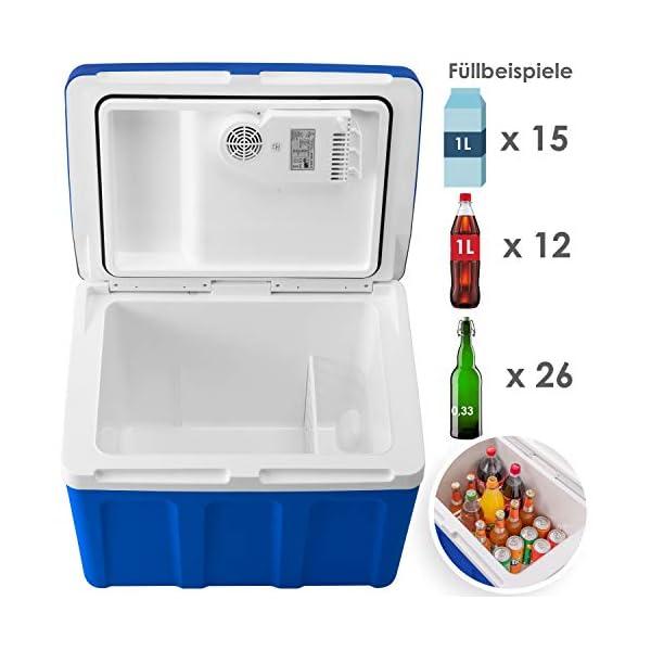 41bhZDPqp8L Kesser® 40L Kühlbox mit Rollen | zum Warmhalten und Kühlen | Thermo-Elektrische Kühlbox | 12 Volt und 230 Volt| Mini…
