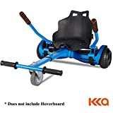 KKA Hoverboard Accessories, Hoverboard Seat Attachment Fits Self Balancing Scooter Go Cart Frame (Blue)