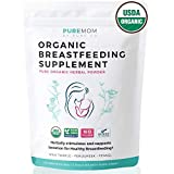 USDA Organic Breastfeeding Supplement (Powder) Increase Milk Supply & Herbal Lactation Support – No Fillers – Aid For Mothers – NON-GMO – Fenugreek Seed, Milk Thistle & Fennel Seed | 60 Grams For Sale