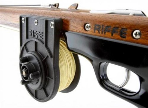 Riffe C.F.N.Vertical Reel For Spearfishing (With Line)