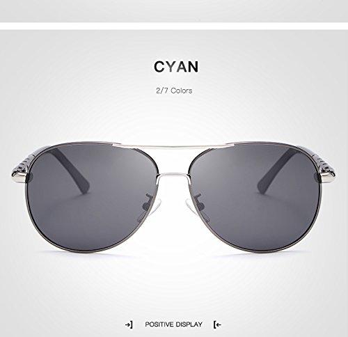 de marco para Gafas de sol para de sol sol sol UV400 Gran Gafas Gafas Yao Gafas sol sol Gafas de grandes adultos de conducción unisex Espejo de Polaroid Bronze moda de de aCt1EESxq