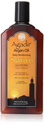 Agadir Argan Oil Daily Moisturizing Shampoo, 12.4 Ounce