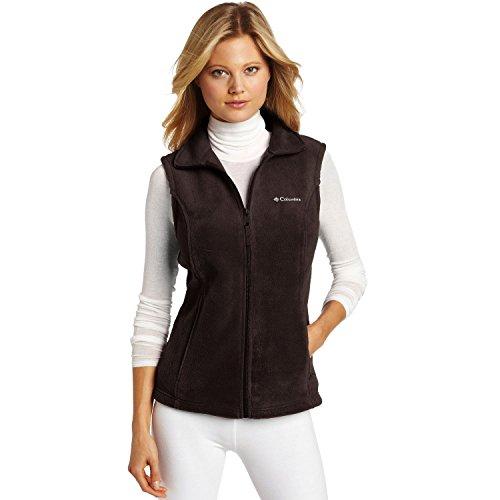 Columbia Women's Benton Springs Vest - Bark - (Brown Fleece Vest)