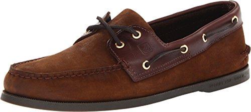 Sperry Men's A/O 2 Eye Boat Shoe,Brown/Buck Brown,7 M US]()