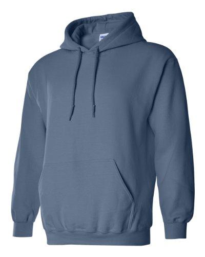 Gildan Adult Heavy Blend� Hooded Sweatshirt (Indigo Blue) (Large)