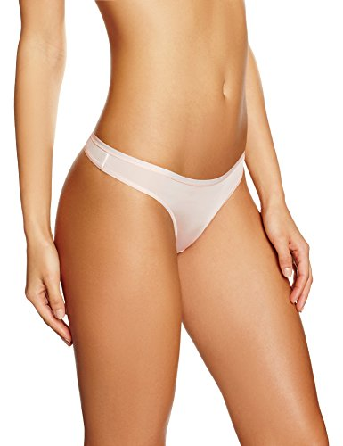 - Iris & Lilly Women's Body Smooth Microfiber Thong,  Pack of 5,  (Soft Pink), S (US 4-6)
