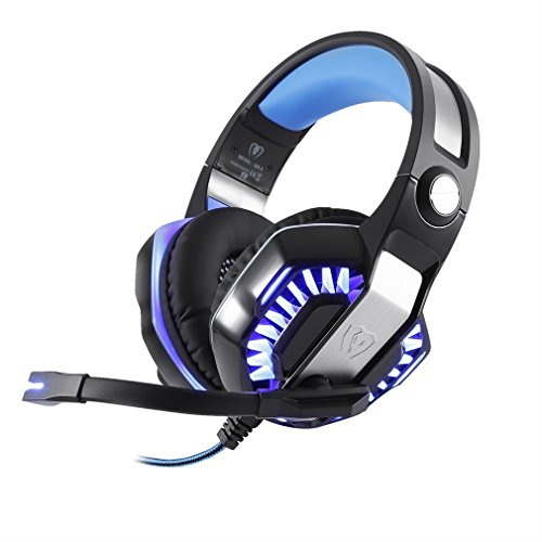Gaming Headset Headphones Microphone Cancellation