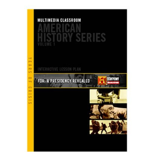 The History Channel - FDR : A Presidency Revealed - American History Series - Multimedia Classroom 3 Disc Set - 2 Dvd's 1 Cd-rom