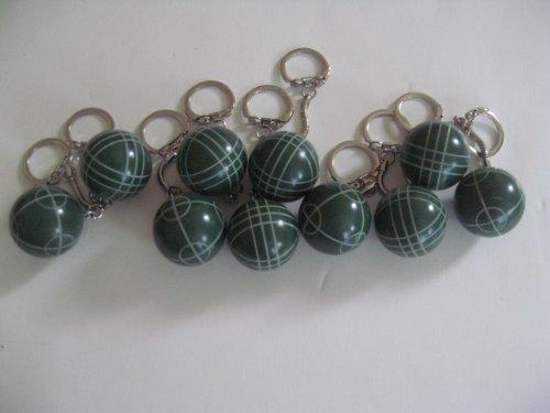 Bocce Halex Ball - Regent-Halex Bocce Ball Keychain - pack of 10