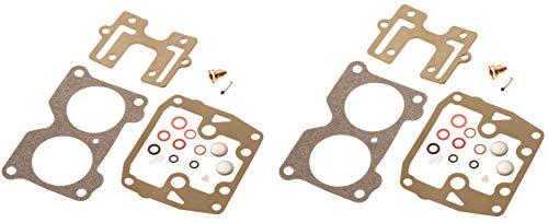 Johnson Evinrude Twin Carburetor Carb Rebuild Kit V4 85 90 100 115 125 140 HP