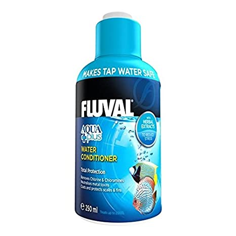 Fluval Acondicionador de Agua Aquaplus - 250 ml: Amazon.es: Productos para mascotas
