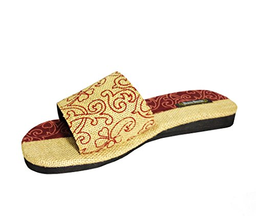 Siam-Smile-Slice-Slipper-General-Wear-Made-From-Natural-Materials-Natural-Fibers