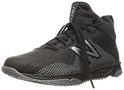 New Balance Men's Freeztv1 Lacrosse Shoe, Blackgrey, 12 D Us
