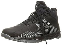 New Balance Men's Freeztv1 Lacrosse Shoe, Blackgrey, 12 D Us