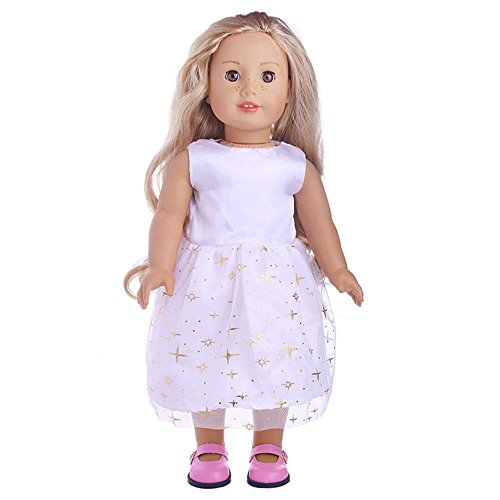 Different Types Of Ballet Costumes (TOOPOOT Clearance Deals Doll Clothes,2018 Cute Lovely Princess Dress Up Costume Clothing Gift For 18 inch Dolls (A))