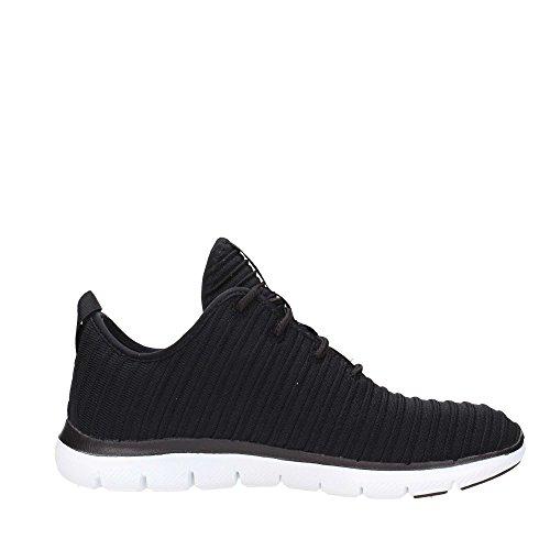 Skechers Damen Sneaker Flex Appeal 2.0 Estates Schwarz 38