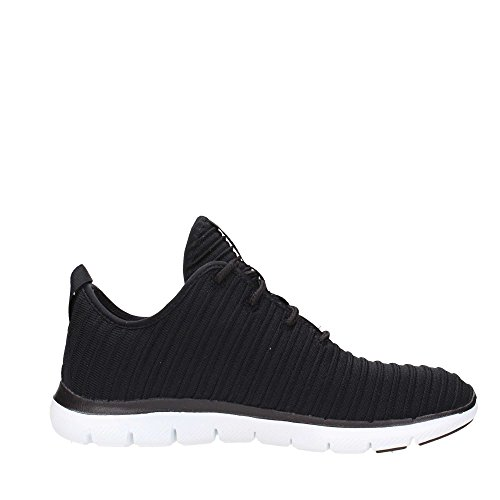 Skechers Damen Sneaker Flex Appeal 2.0 Estates Schwarz Black/White