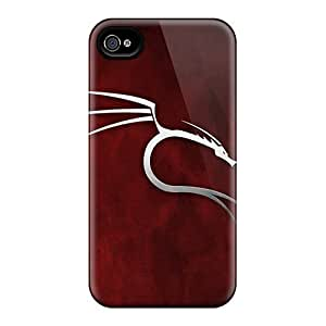 Premium Tpu Backtrack Linux Cover Skin For Iphone 4/4s