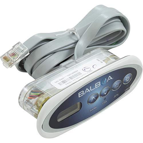 Panel Hot Tub Control (Balboa 30-200-3238 Topside Kit, Mini Oval VL200 Plus Overlay, 53238)