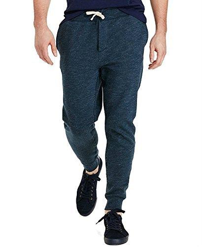 Polo Ralph Lauren Men's Running Joggers Fleece Sweatpants Pants, Small French Navy (Fleece Ralph Mens Lauren)