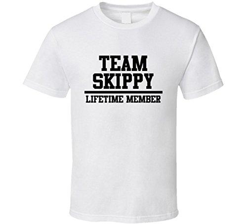 team-skippy-lifetime-member-name-cool-t-shirt-m-white