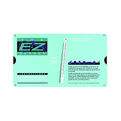 graphic about Ez Grader Printable called : First E-Z GRADER E-Z GRADER RECTANGLE Fashioned