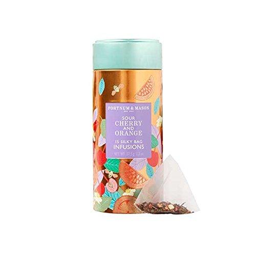 CDM product Fortnum & Mason British Tea, Sour Cherry & Orange Infusion Tin, 15 Silky Tea bags (1 Pack) NEW Product ID36SD - USA Stock big image