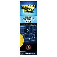 Almohadillas de limpieza de vitrocerámica Cerama Bryte para manchas rebeldes, 10 unidades