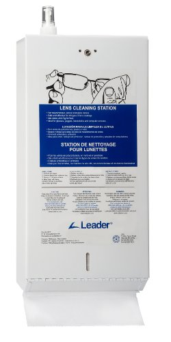 C-Clear 61F Heavy Duty Filled Metal Lens Cleaning Station by Leader