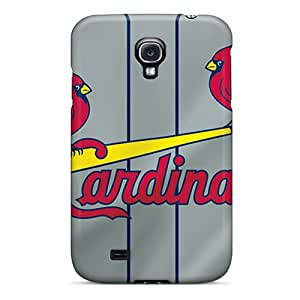 Fashion Tpu Case For Galaxy S4- St. Louis Cardinals Defender Case Cover