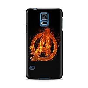 Avengers Age Of Ultron Logo Samsung Galaxy S5 Hard Case Cover