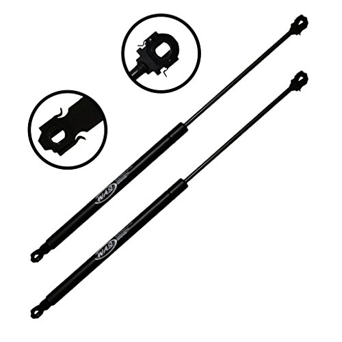 Two Front Hood Gas Charged Lift Support for 92-99 Buick Lesabre, 91-96 Park Avenue, 91-92 Cadillac Commercial Chassis, Brougham, Deville, Fleetwood. 1993 Cadillac 60 Special, Commercial Chassis, Devil ()