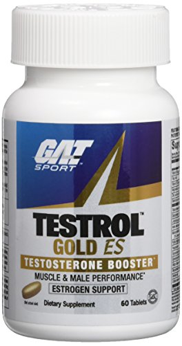 GAT Testrol Gold ES Boosters, 60 Tablets by GAT
