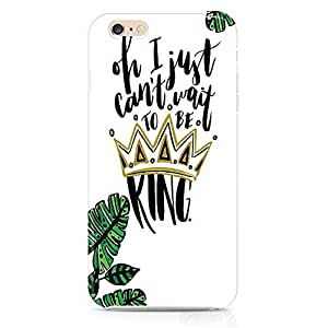 Loud Universe The Lion King iphone 6 Case Cant wait to be king iphone 6 Cover with 3d Wrap around Edges
