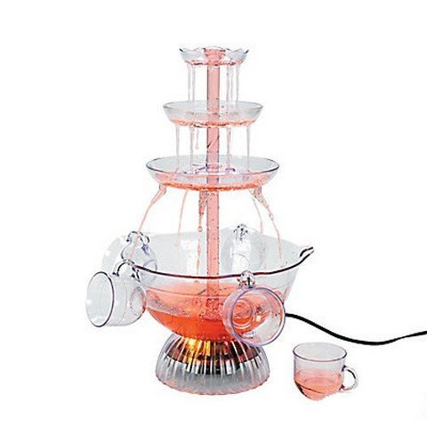 Light-Up Party Fountain & Cups by ADVENTURER'S BAG