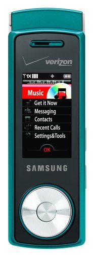 Samsung Juke Phone, Teal (Verizon Wireless) (Juke Samsung)