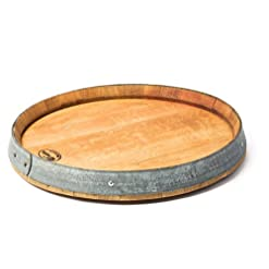 Kitchen MGP Wine Barrel Head Lazy Susan lazy susans