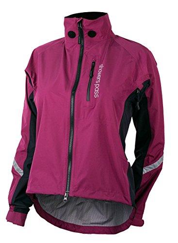 (Showers Pass Women's Waterproof Double Century RTX Performance Cycling Jacket (Plum - Large))