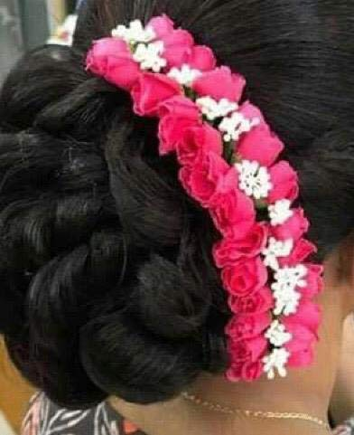 Phenomenal Buy Agaas Enterprises Bridal Flower Bun Hair Gajra Accessories For Schematic Wiring Diagrams Phreekkolirunnerswayorg