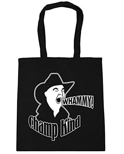 HippoWarehouse Whammy. Bolsa de la compra bolsa de playa 42cm x38cm, 10litros negro