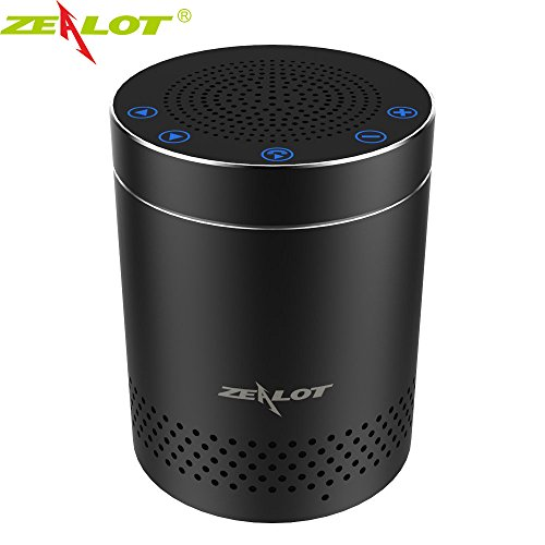 ZEALOT Portable Wireless Bluetooth Speakers Home Kitchen 3D Touch Speaker Compact Outdoor Travel Speakers Sleek Design with AUX Port by Desxz